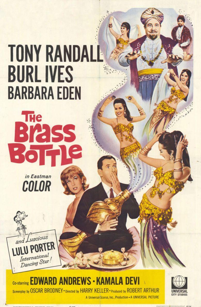 The Brass Bottle (1964 film) movie poster