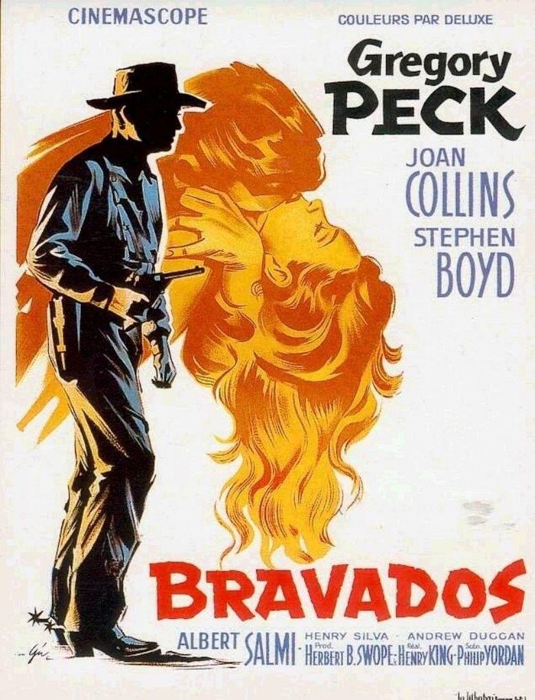 The Bravados movie poster