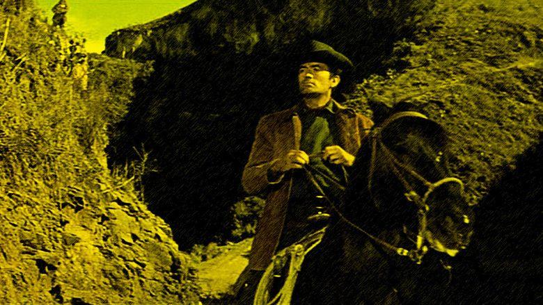 The Bravados movie scenes