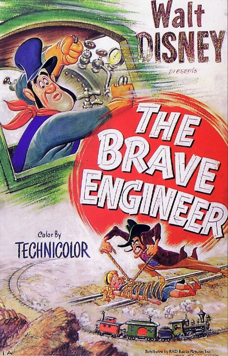 The Brave Engineer movie poster