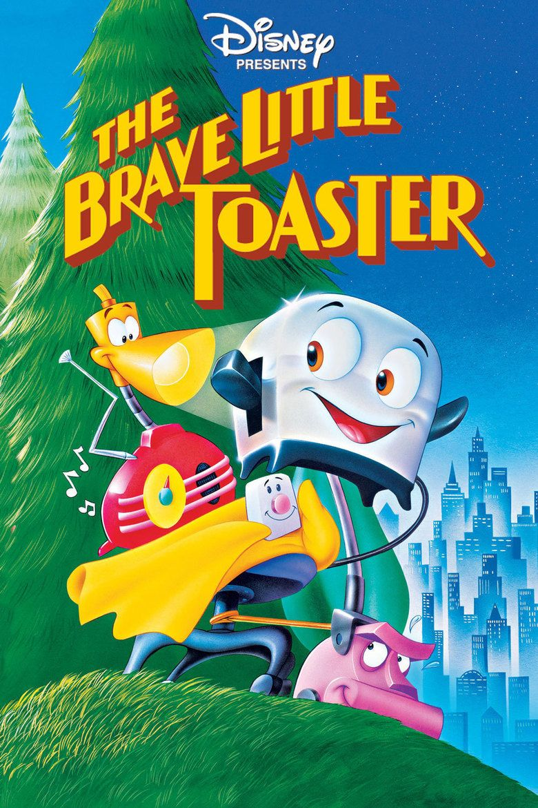 The Brave Little Toaster (film) movie poster
