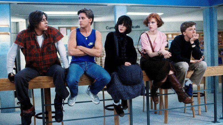 The Breakfast Club movie scenes