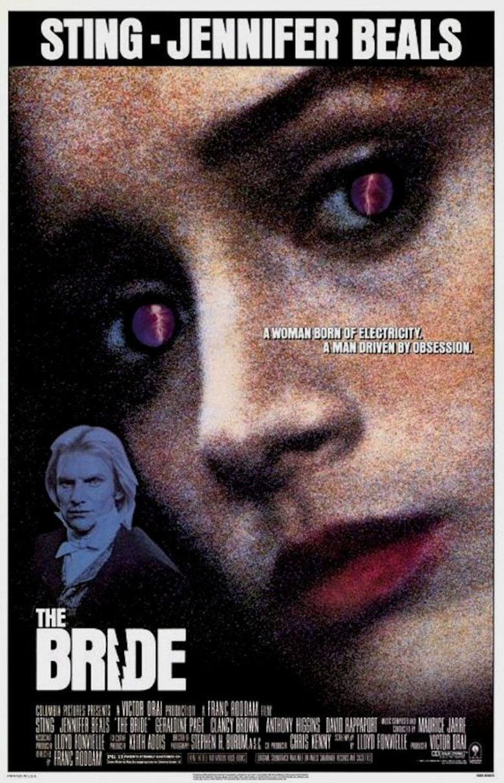 The Bride (1985 film) movie poster