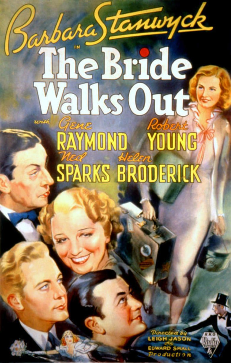 The Bride Walks Out movie poster