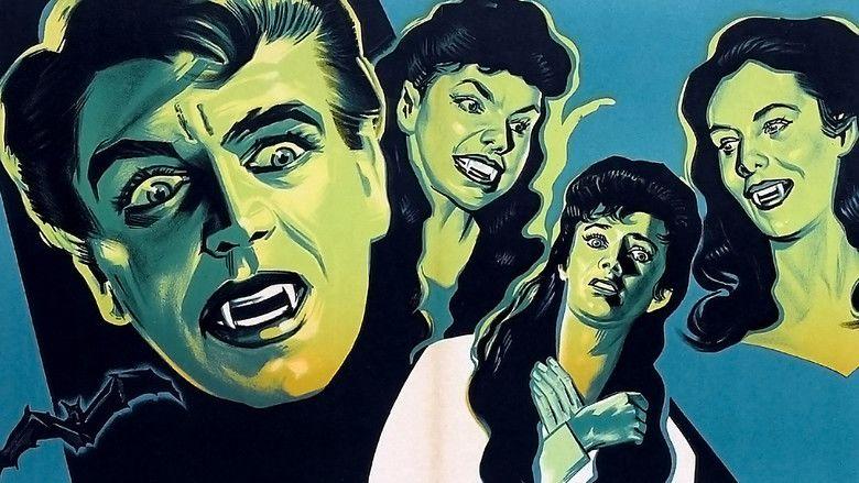 The Brides of Dracula movie scenes