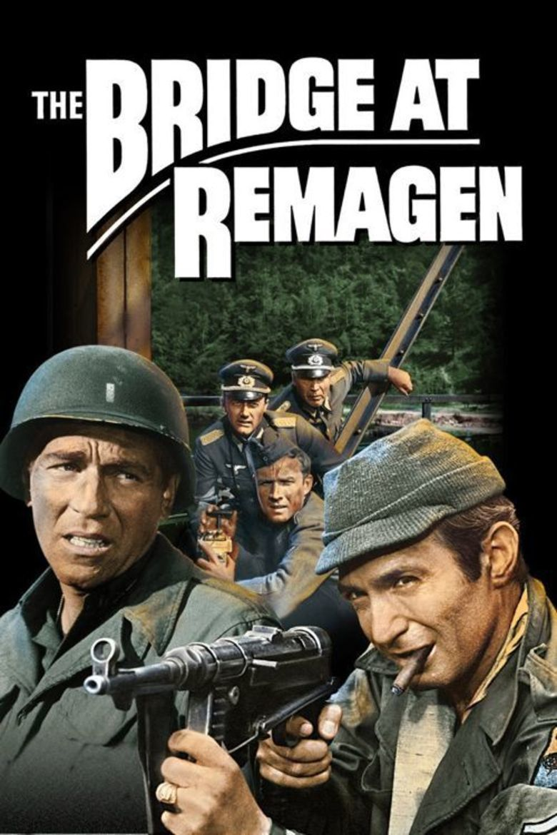 The Bridge at Remagen movie poster