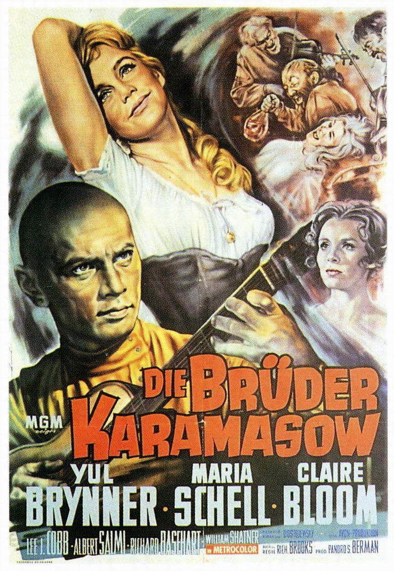 The Brothers Karamazov (1958 film) movie poster