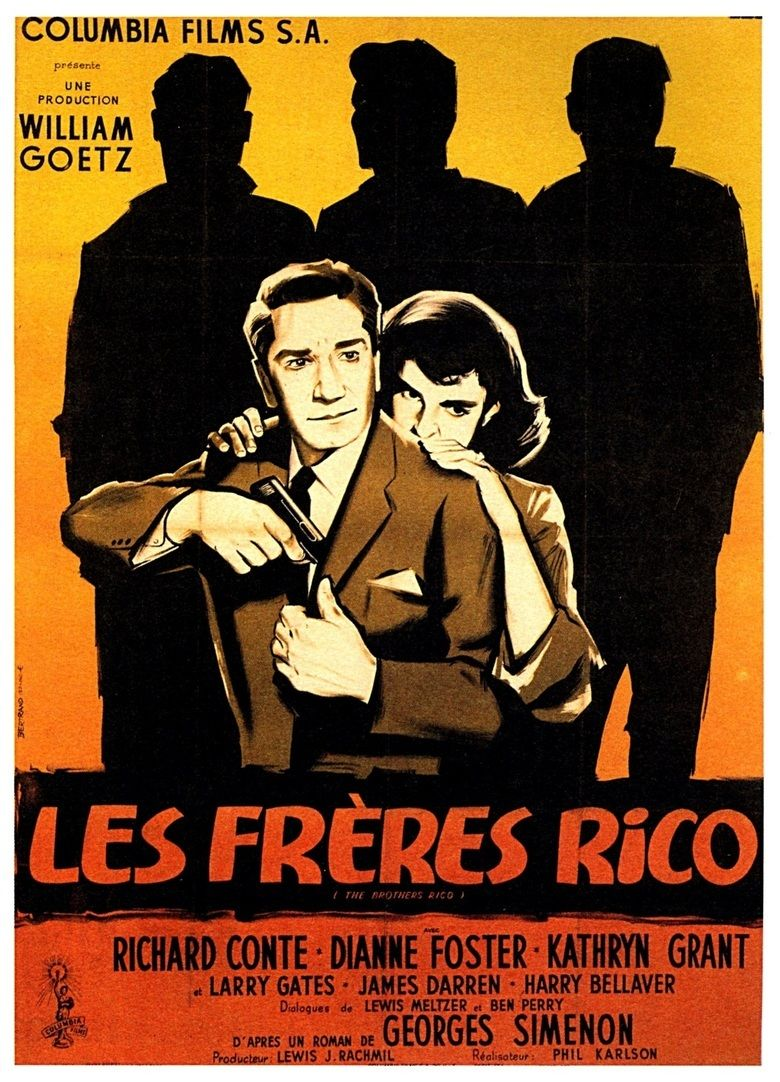 The Brothers Rico movie poster