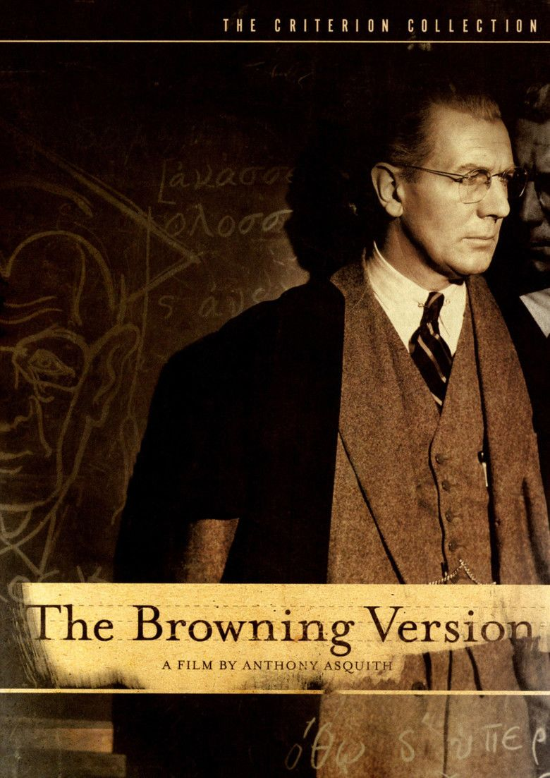 The Browning Version (1951 film) movie poster