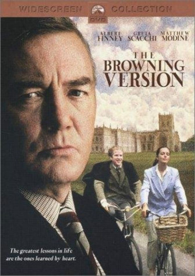 The Browning Version (1994 film) movie poster