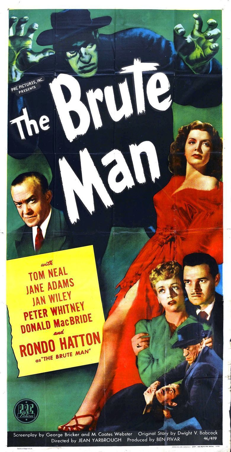The Brute Man movie poster