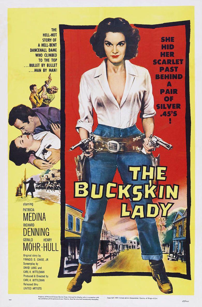 The Buckskin Lady movie poster