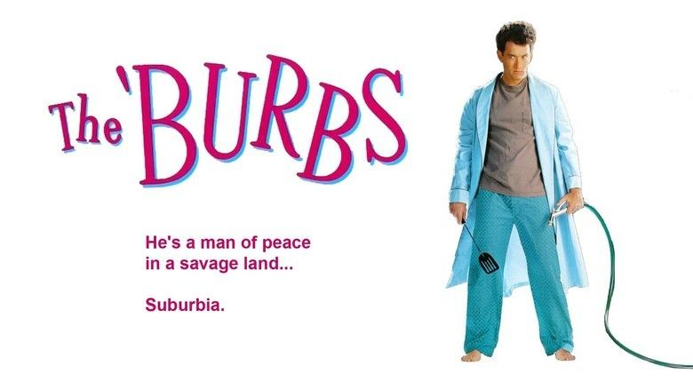 The Burbs movie scenes
