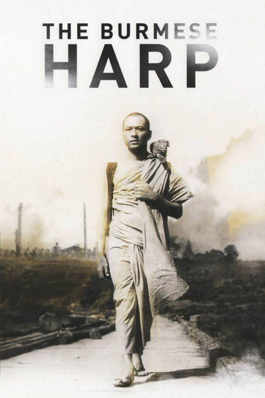 The Burmese Harp (1956 film) movie poster