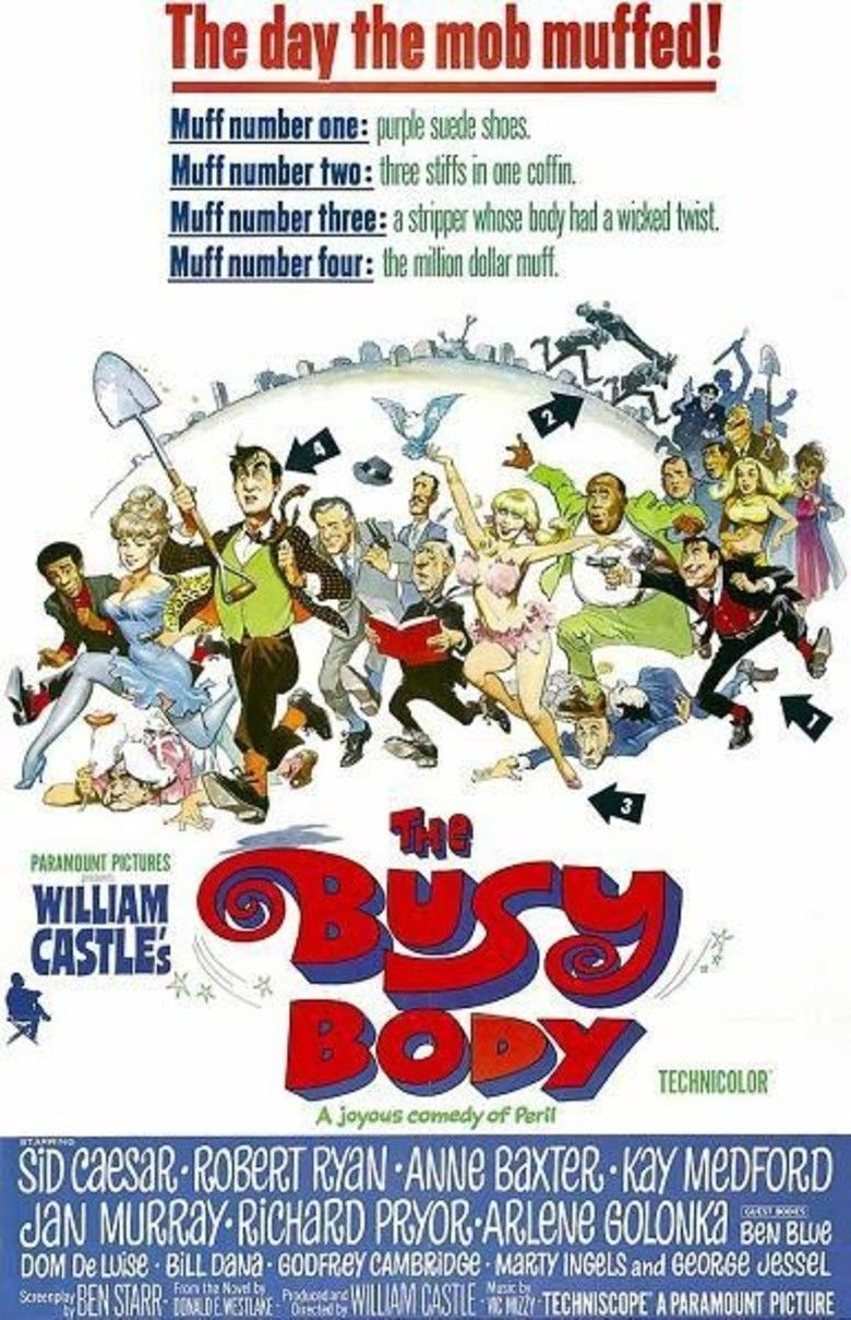 The Busy Body movie poster