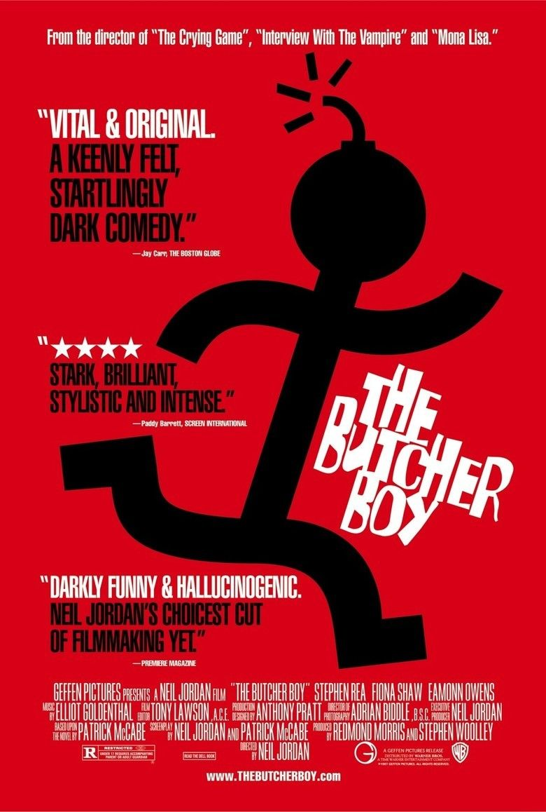 The Butcher Boy (1997 film) movie poster
