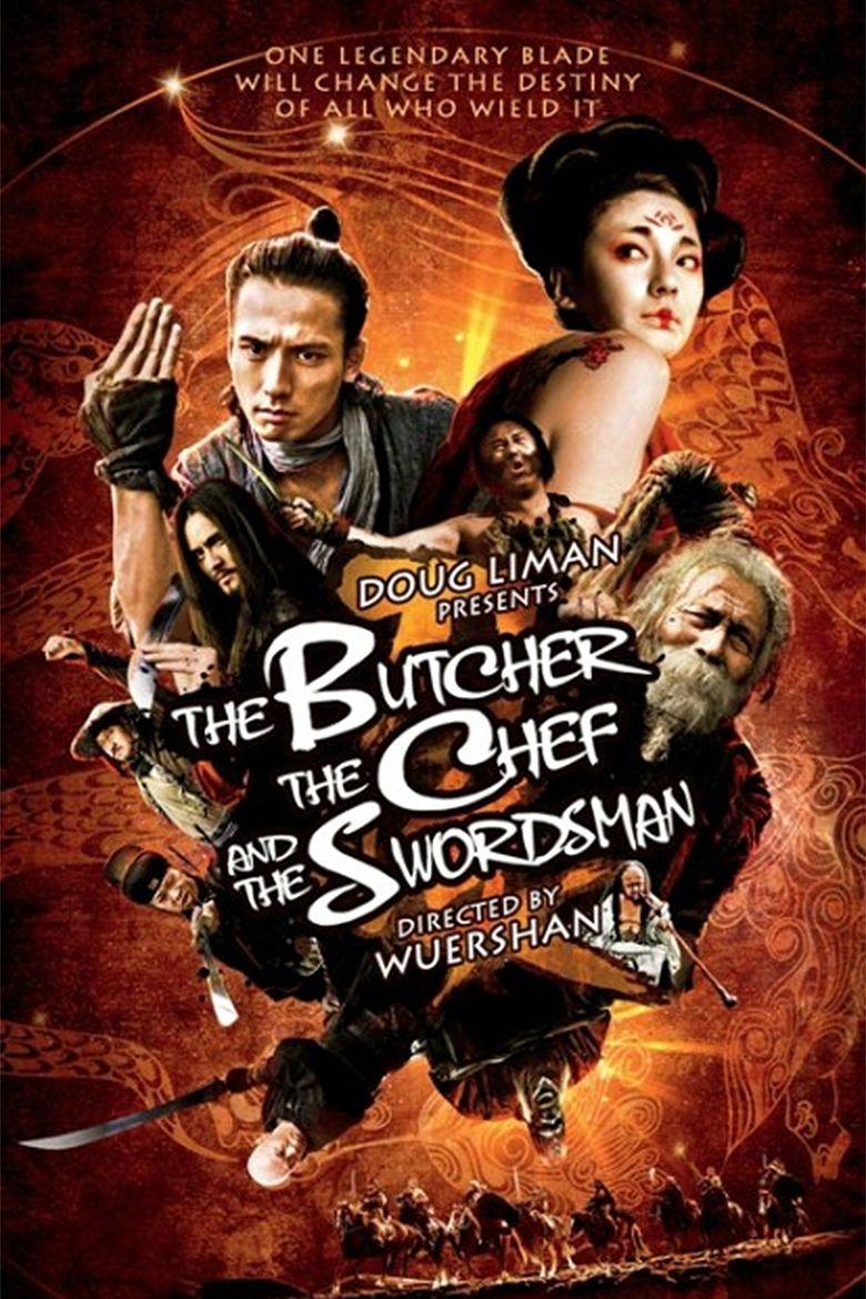 The Butcher, the Chef and the Swordsman movie poster