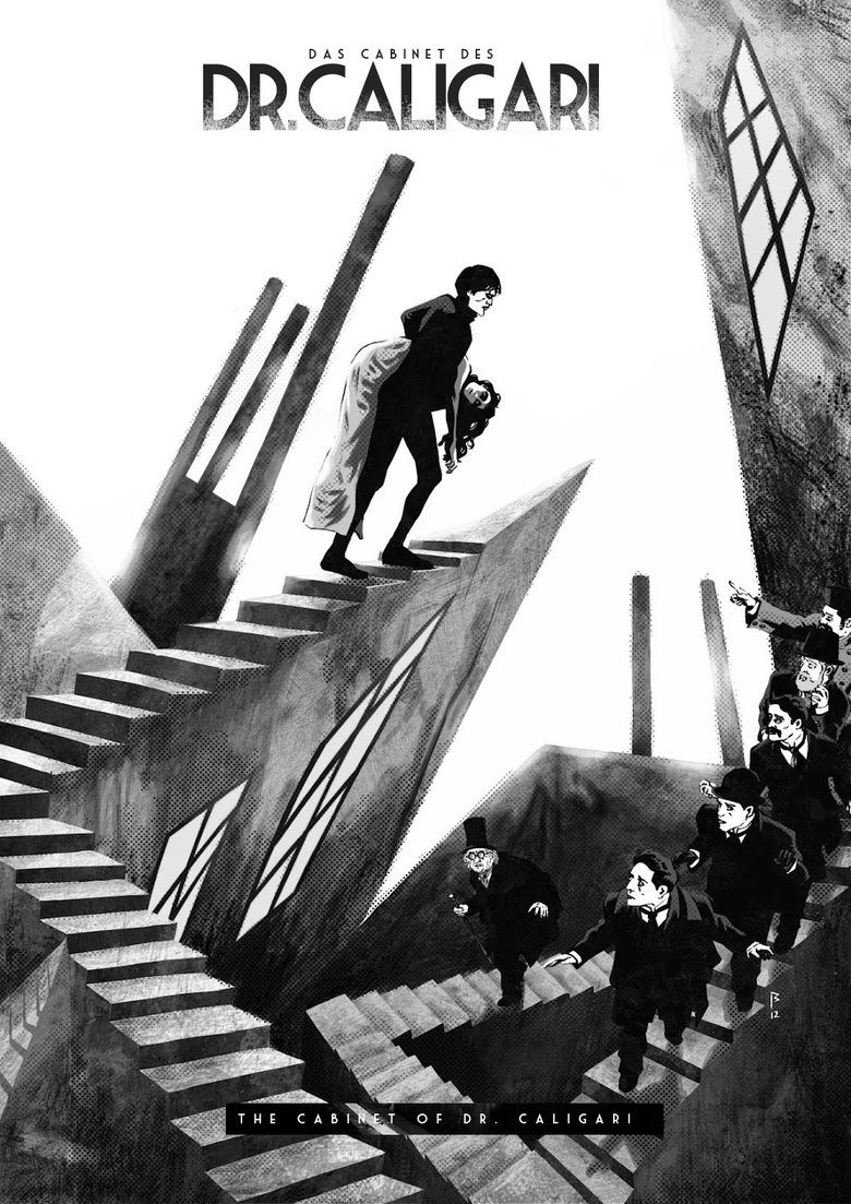 The Cabinet of Dr Caligari movie poster