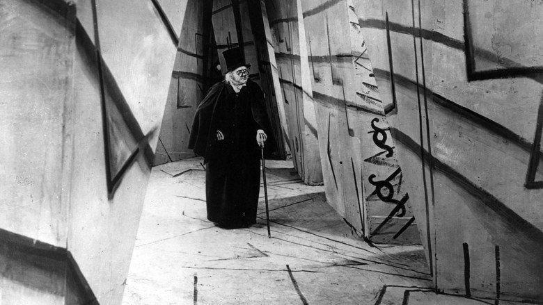 The Cabinet of Dr Caligari movie scenes