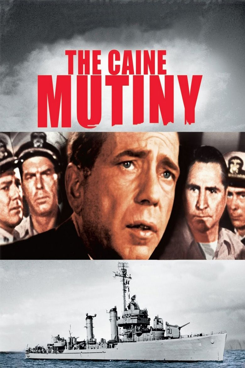 The Caine Mutiny (film) movie poster