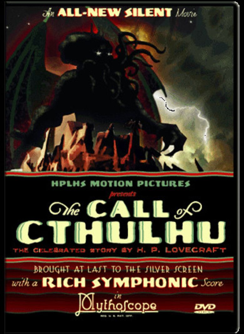 The Call of Cthulhu (film) movie poster