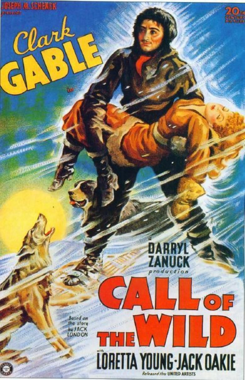 The Call of the Wild (1935 film) movie poster