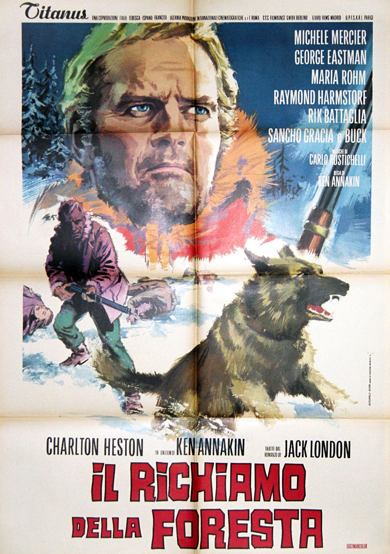 The Call of the Wild (1972 film) movie poster