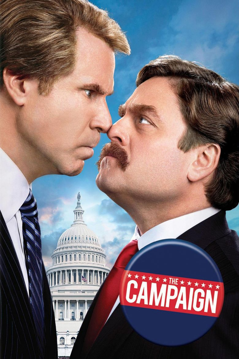 The Campaign (film) movie poster