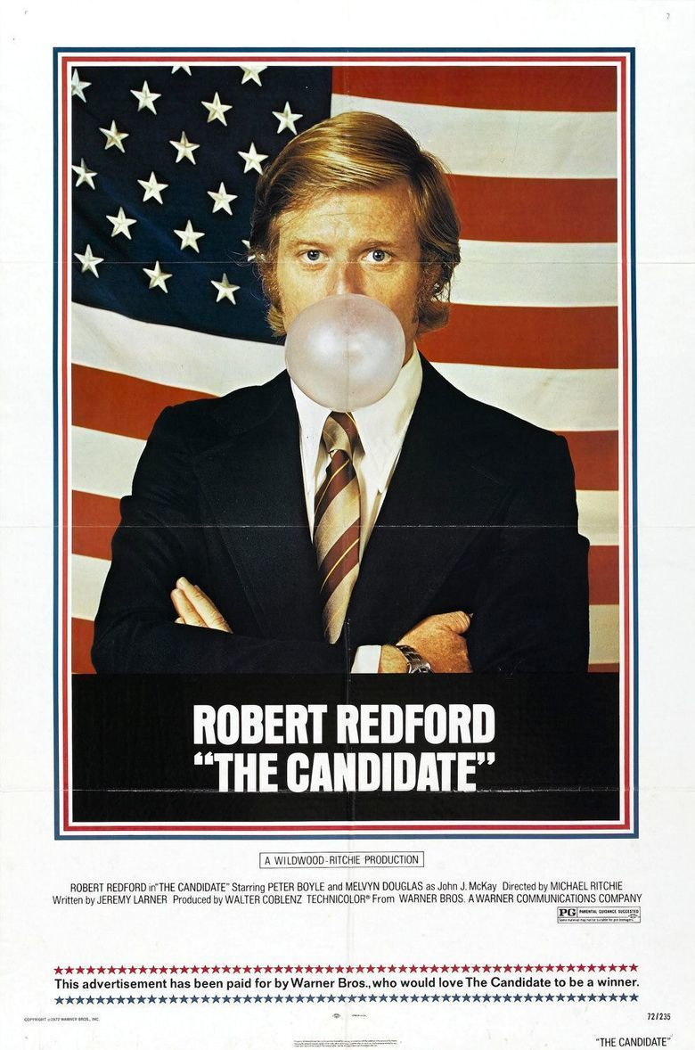 The Candidate (1972 film) movie poster