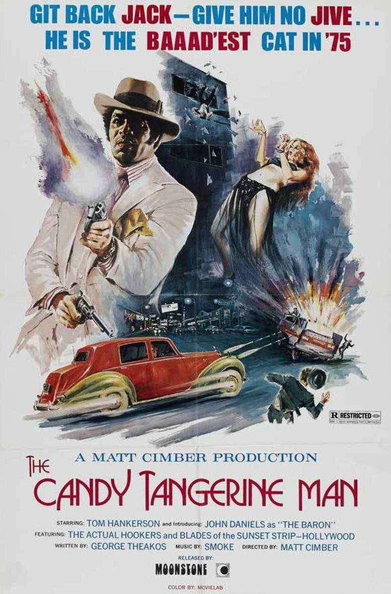 The Candy Tangerine Man movie poster