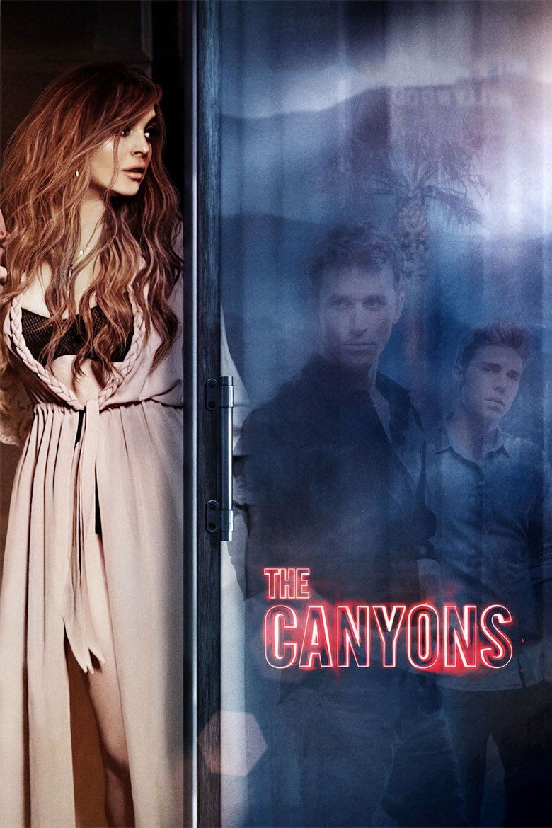 The Canyons (film) movie poster