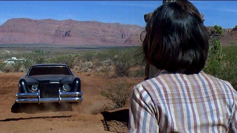 The Car movie scenes