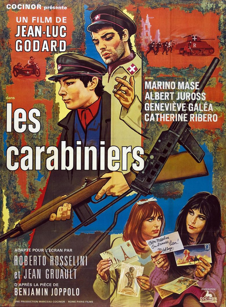 The Carabineers movie poster