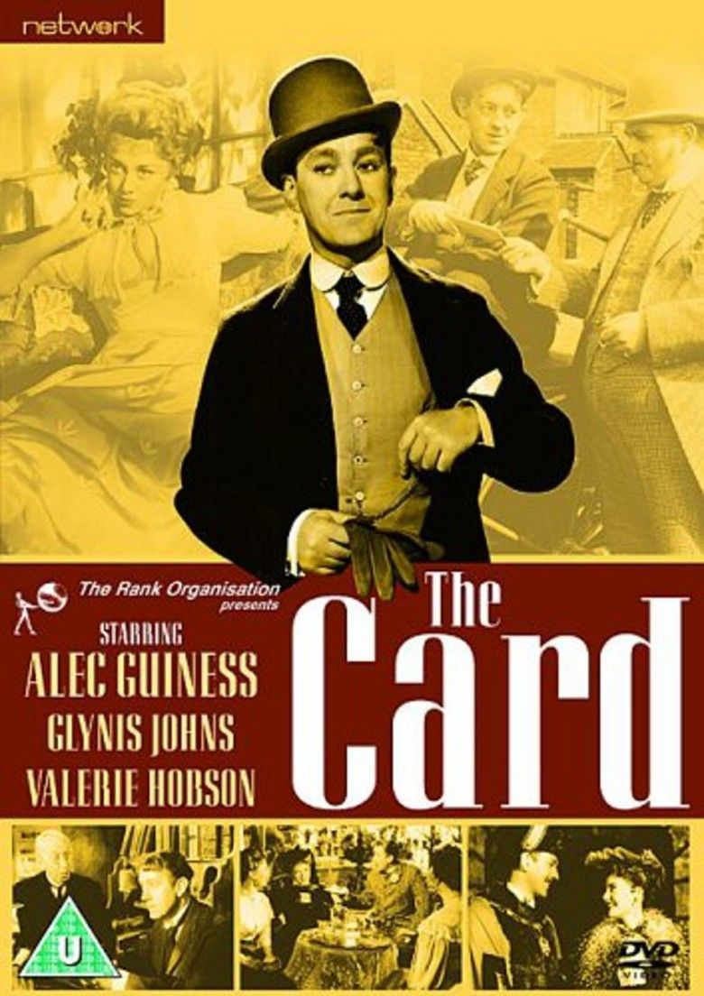 The Card (1952 film) movie poster