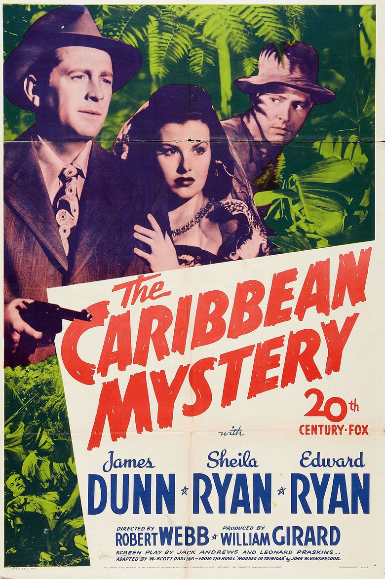The Caribbean Mystery movie poster