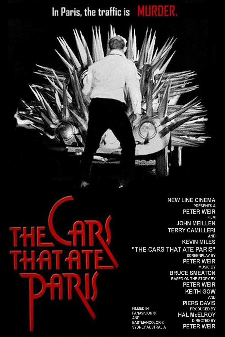 The Cars That Ate Paris movie poster