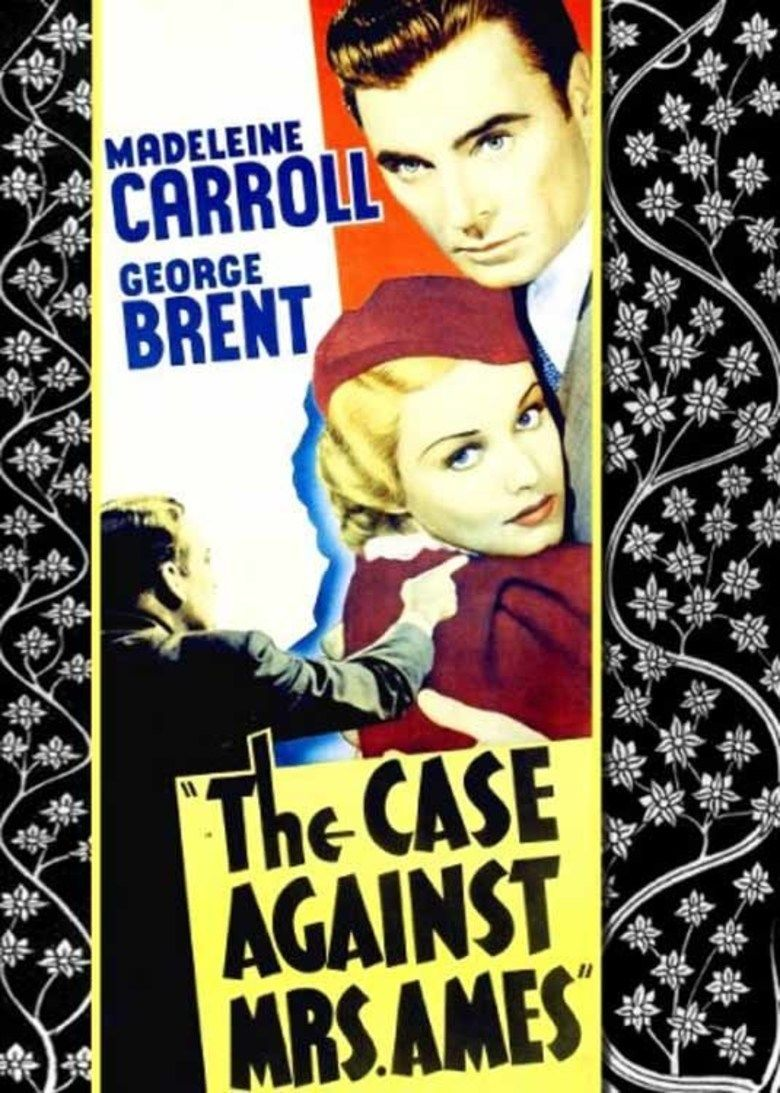 The Case Against Mrs Ames movie poster