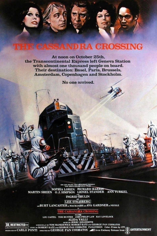 The Cassandra Crossing movie poster