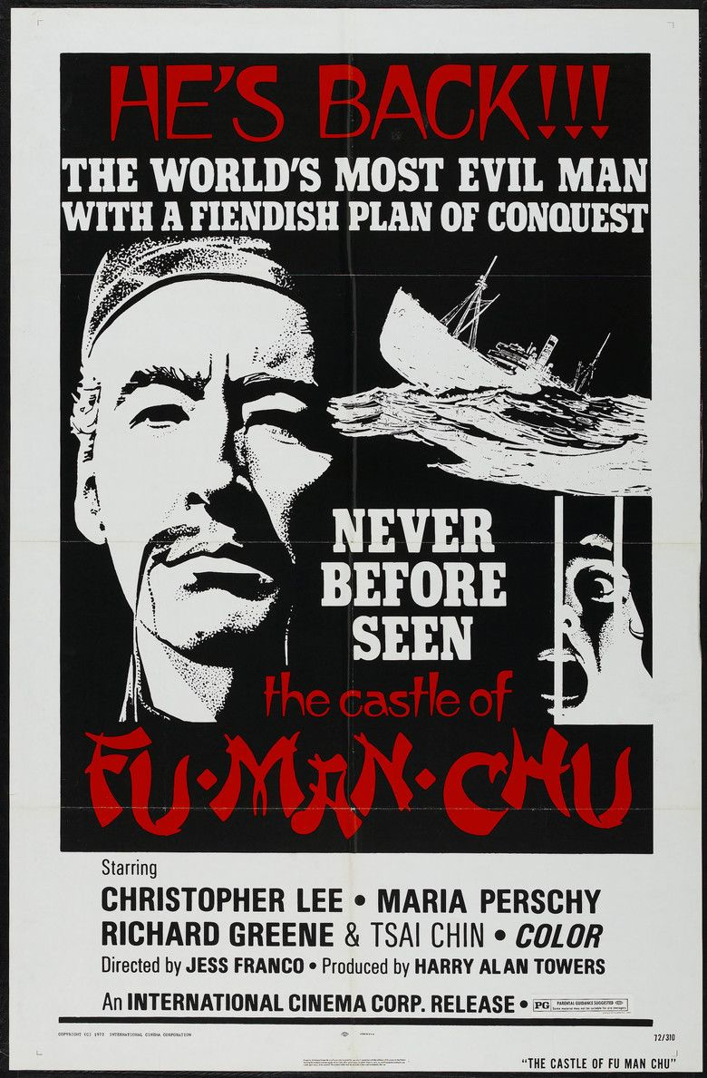 The Castle of Fu Manchu movie poster