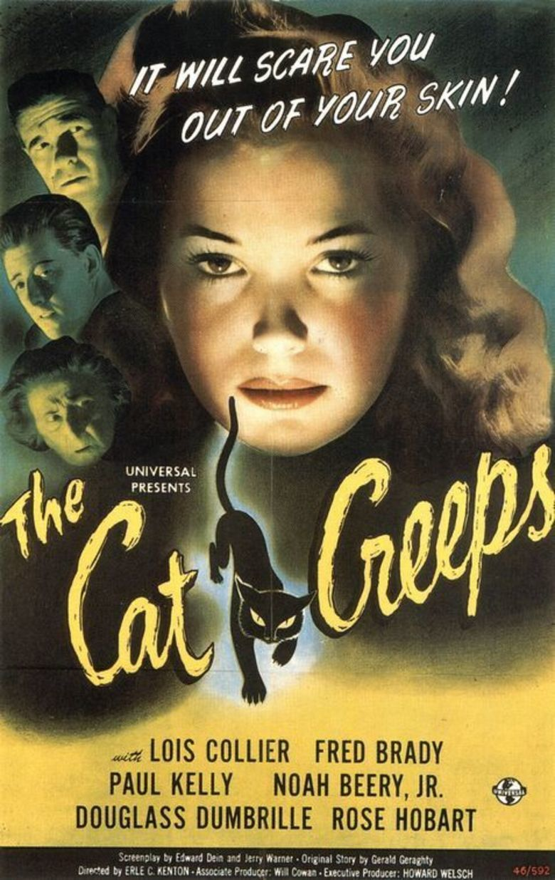 The Cat Creeps movie poster