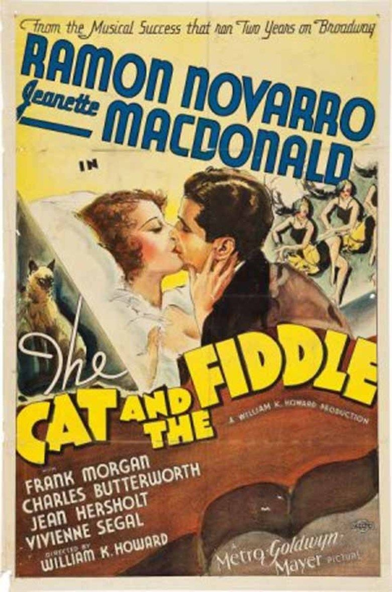 The Cat and the Fiddle (film) movie poster