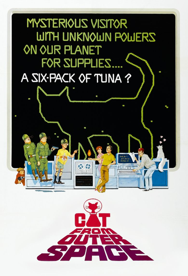 The Cat from Outer Space movie poster