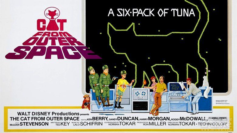 The Cat from Outer Space movie scenes