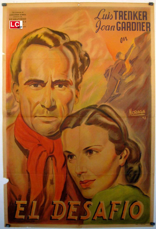 The Challenge (1938 film) movie poster