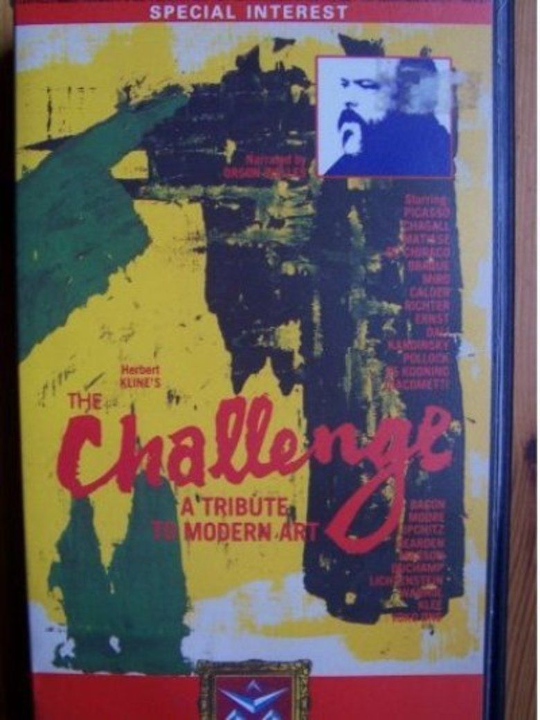 The Challenge A Tribute to Modern Art movie poster