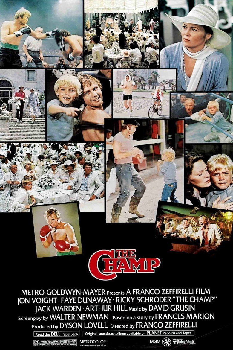 The Champ (1979 film) movie poster