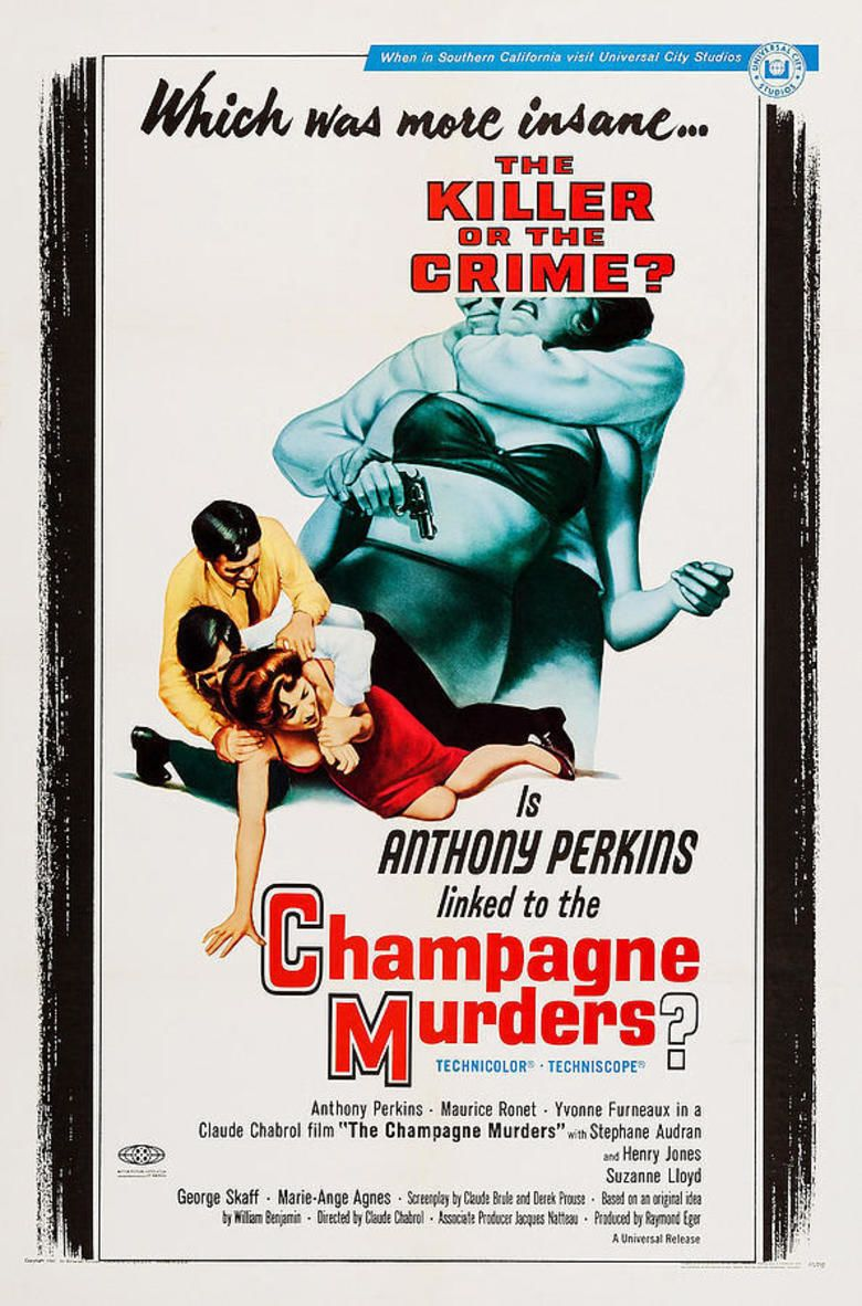 The Champagne Murders movie poster