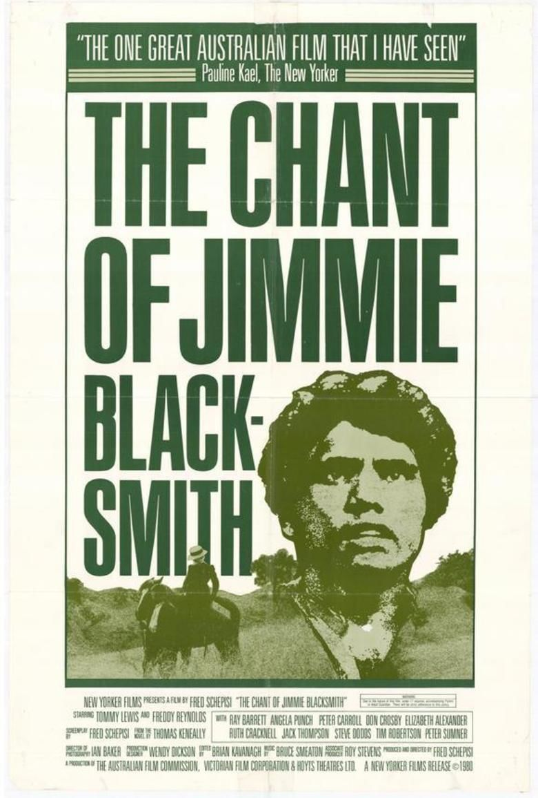 The Chant of Jimmie Blacksmith (film) movie poster