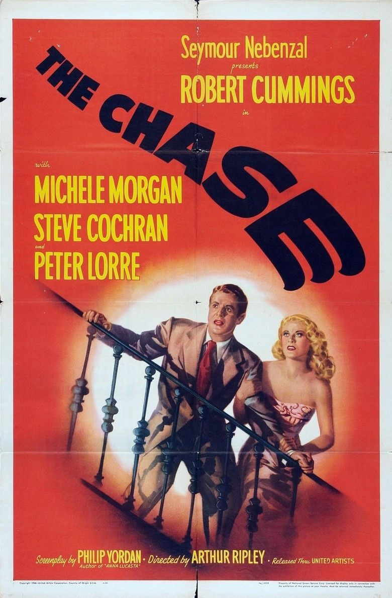 The Chase (1946 film) movie poster