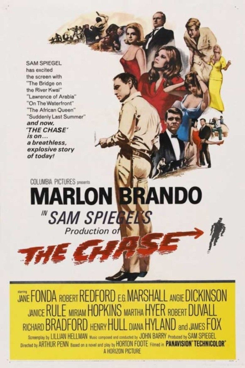 The Chase (1966 film) movie poster